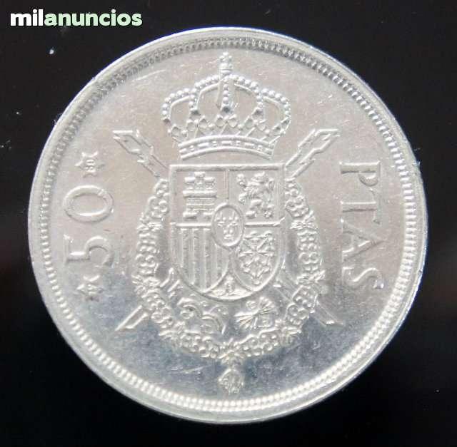 Monedas De 50 Pesetas 1975-19/80Mbc