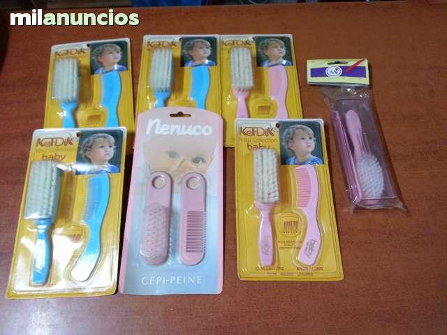 LOTE DE 7 SET DE PEINES INFANTILES NUEVO
