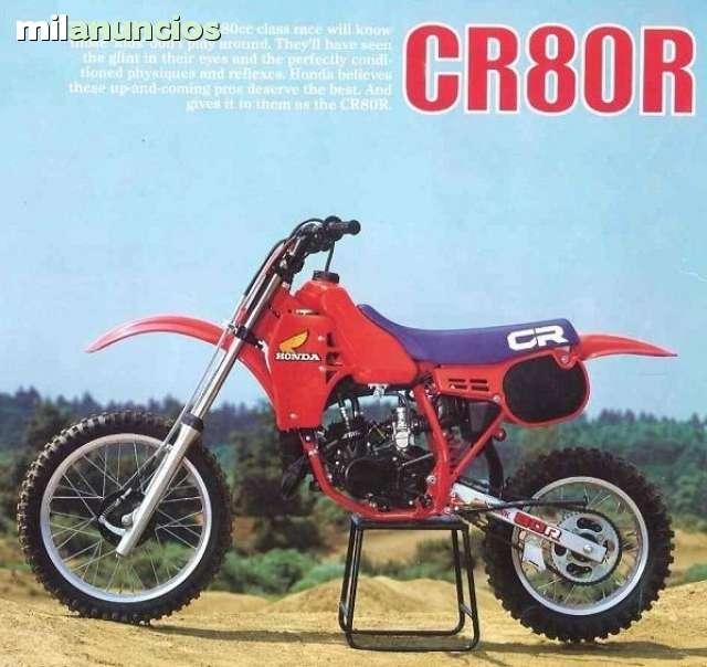COMPRO MOTO MOTOCROSS 80 CC