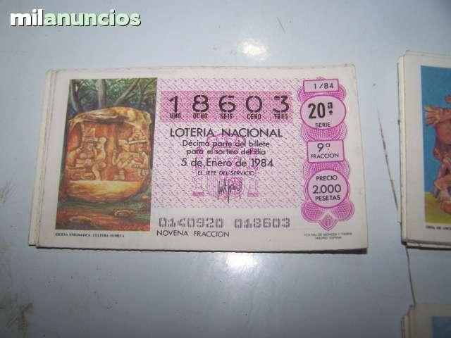 LOTERIA NACIONAL 1984 - foto 2