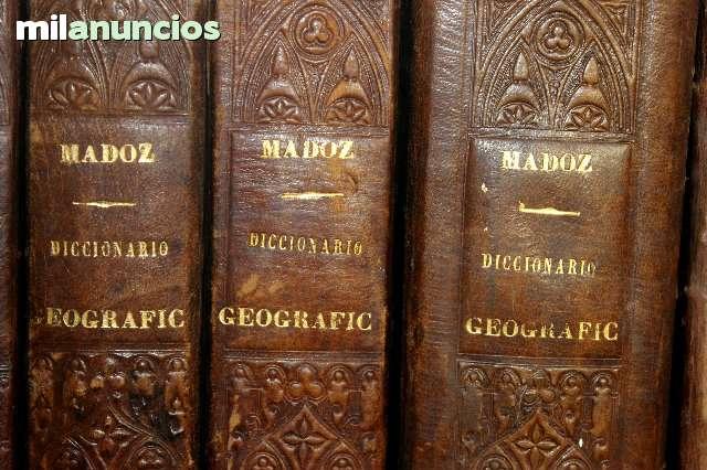 MIL ANUNCIOS.COM - Diccionario madoz 1ª edición completa