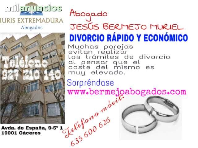 DIVORCIO RÁPIDO Y ECONÓMICO - foto 1