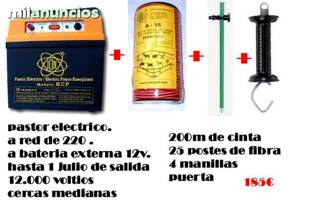 PASTOR ELECTRICO, ECONOMICO, PARA OSOS