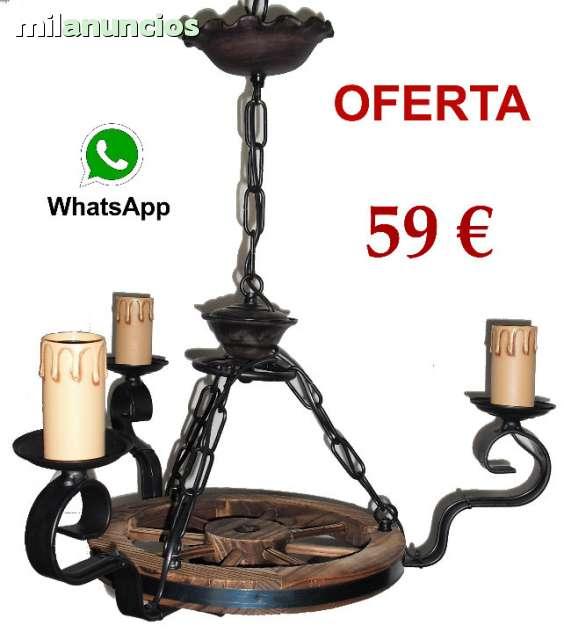 LAMPARA RUEDA DE CARRO
