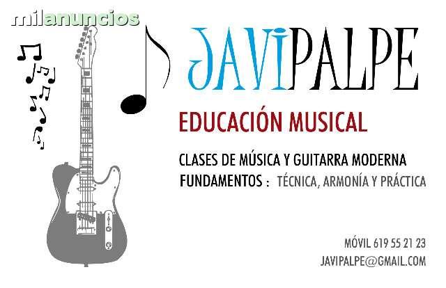 CLASES DE GUITARRA MODERNA ONLINE(SKYPE)