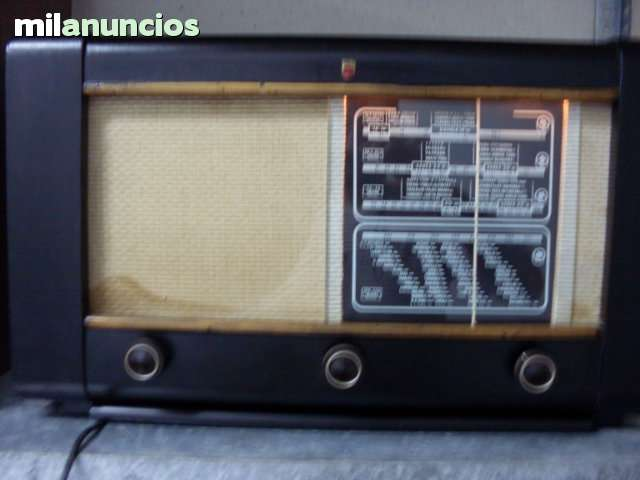 RADIO VALVULA PHILIPS 1947 MODELO BE472A