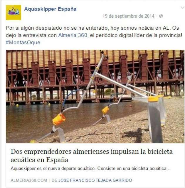 WATER BIRD -BICICLETA ACUATICA - foto 3