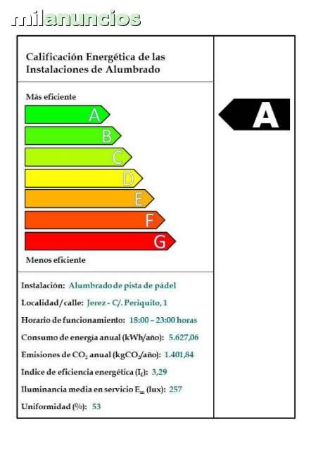 CERTIFICADO ENERGÉTICO - foto 1