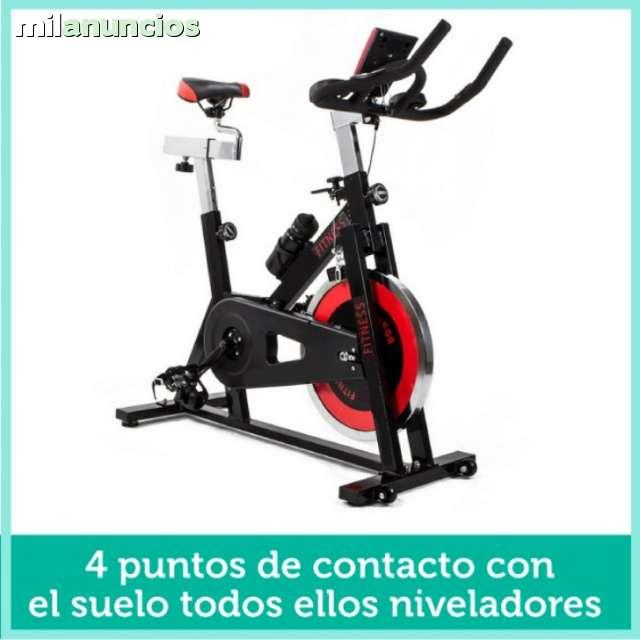 BICICLETA SPINNING CORREA VOLANTE 24KG - foto 1