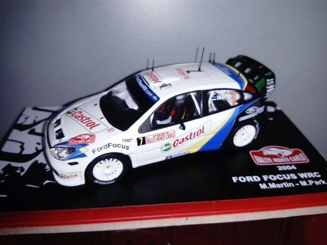 Rallye Montecarlo Ford Focus Wrc