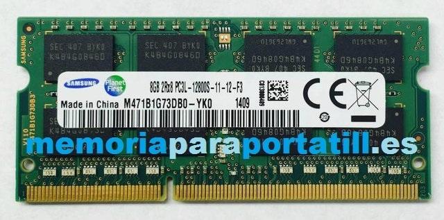 MEMORIA RAM 8GB DDR3L PC12800 1600 MHZ - foto 1
