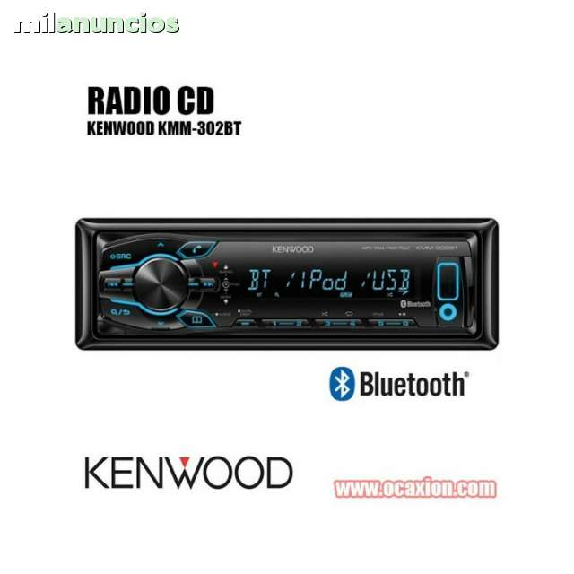 RADIO KENWOOD KMM-302BT