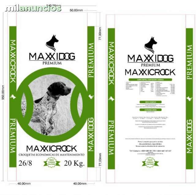 MAXXICROCK 26 8 PIENSO PERROS A 9, 0