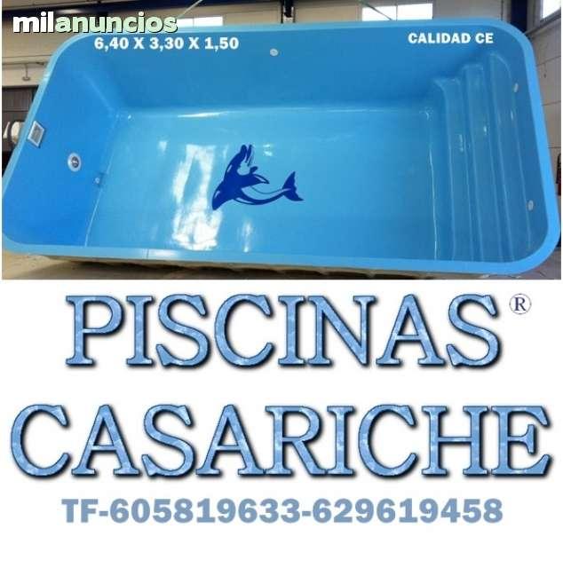 POLIESTER CASARICHE. . PISCINAS DE FIBRA