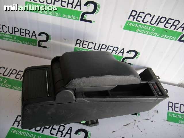 VENDO APOYABRAZOS BMW E46 CUERO NEGRO