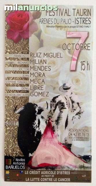 Cartel De Toros De Istres 2007
