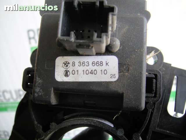 D bmw e46 cromo marco para interruptor luz de aviso//elevalunas tipo 3 acero inoxidable