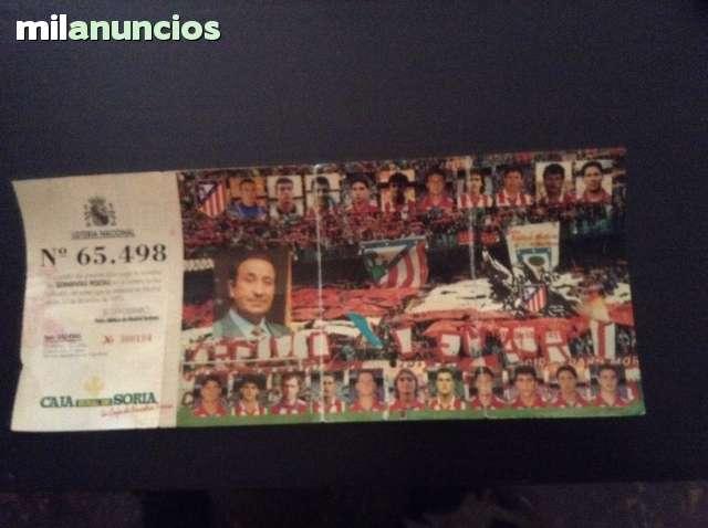 Décimo Lotería De La Peña Atlético M.