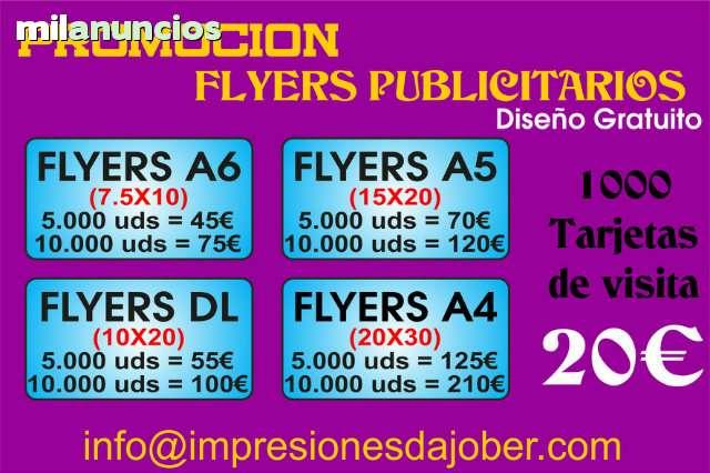 PUBLICIDAD FLYERS ECONOMICOS - foto 1