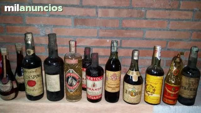 Compro Bebidas De Mas De 25 Años