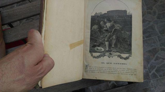 Libro Tauromaquia Antiguo