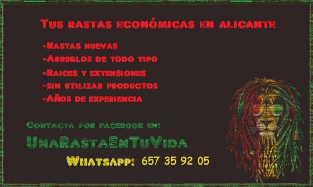 HAGO Y REPARO RASTAS,  ECONÓMICO! DREADS - foto 1