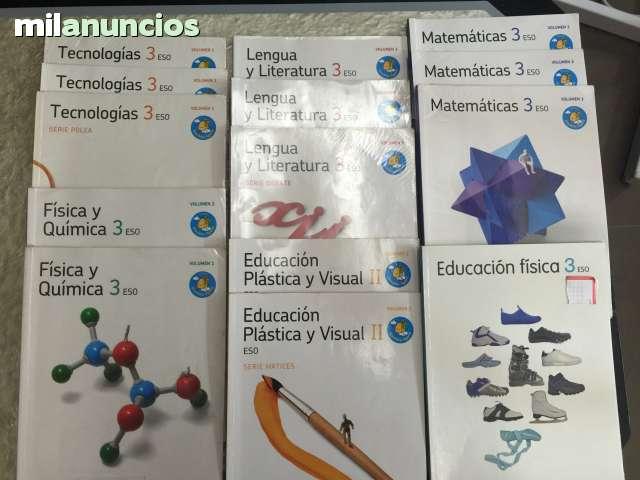 LIBROS DE 3 ESO. EDITORIAL SANTILLANA