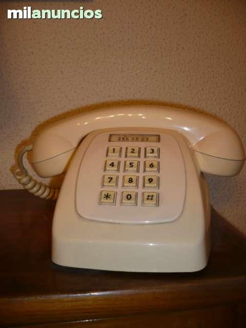 Teléfono Heraldo Sobremesa Crema. Citesa