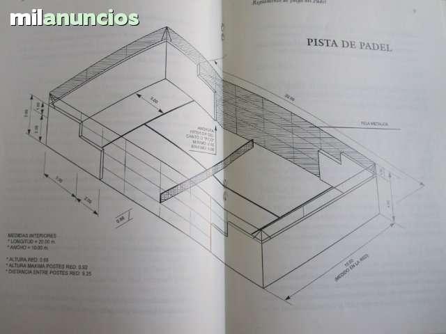 ANTIGUO REGLAMENTO DE PADEL - foto 3