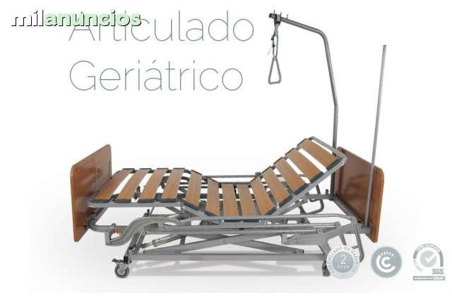 SOMIER ARTICULADO GERIATRICO 105X190