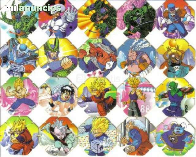 Tazos Bola De Dragon Ball Matutano