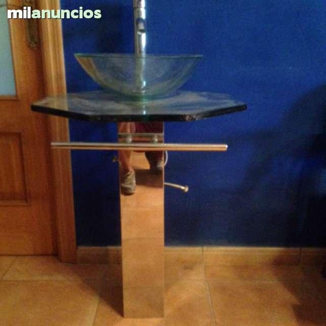 Mueble Baño Rustico Segunda Mano:18 días Vendo mueble diseño de baño / aseo que es un pie de inox la