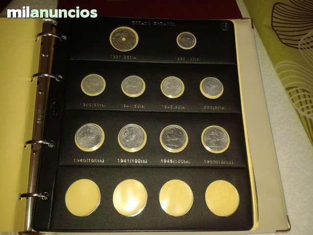 Albun Con Monedas De Franco
