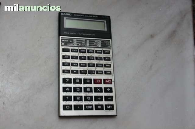 Antigua Calculadora Casio Fx- 570A