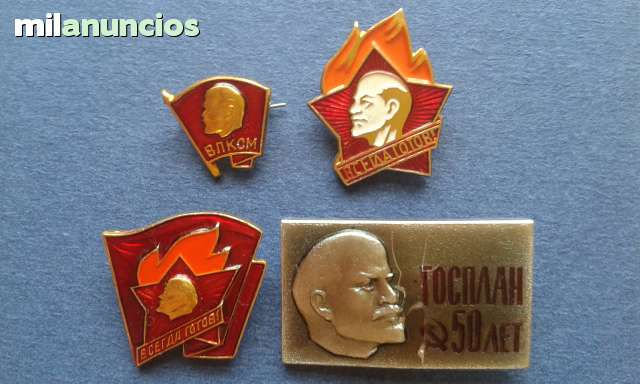 Pins Insignias Lenin