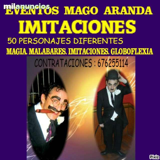 EVENTOS ARANDA IMITACIONES TLF. 676255114