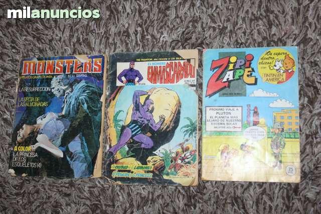 Lote De Tres Comics Antiguas