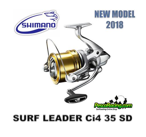 SHIMANO SURF LEADER CI4 35 SD - NUEVOS