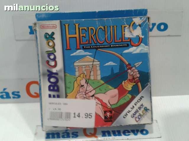 HÉRCULES PARA GAME BOY COLOR