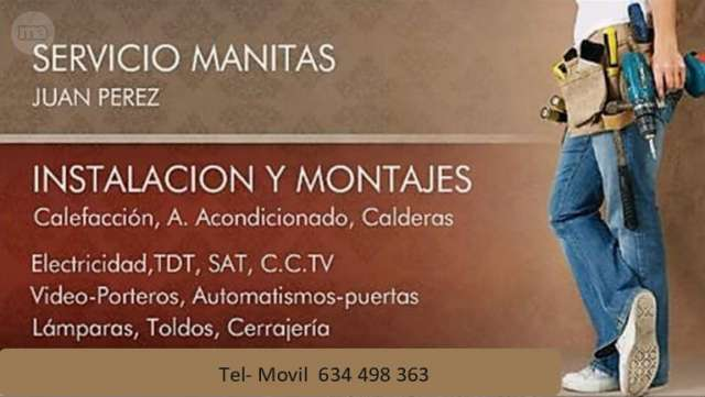 SERVICIO DE MANITAS - foto 1