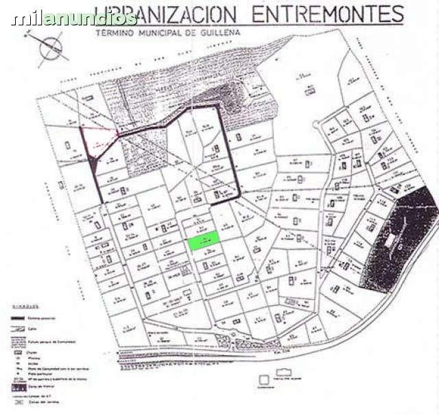 URB.  ENTREMONTES,  CRUCE N630 Y A66.  - foto 1