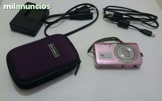 Cargador bateria-cargador y batería//batería cámara para Casio Exilim ex-QV r3