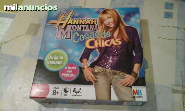JUEGO HANNAH MONTANA COSAS DE CHICAS