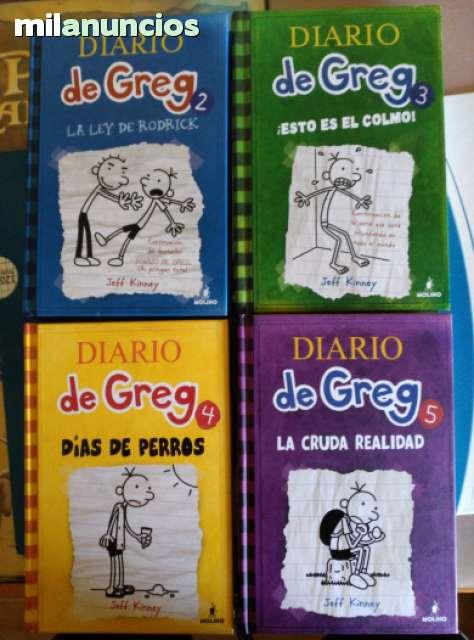OFERTÓN PACK DIARIOS DE GREG 2; 3; 4 Y 5