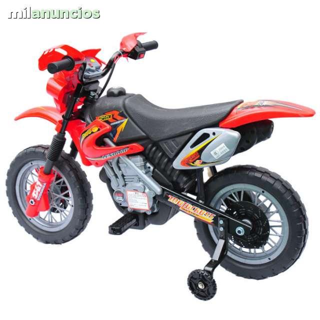 Moto Motocros Nino Bateria Nueva