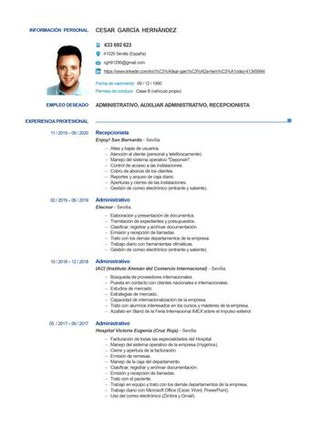 SE OFRECE ADMINISTRATIVO/RECEPCIONISTA - foto 1