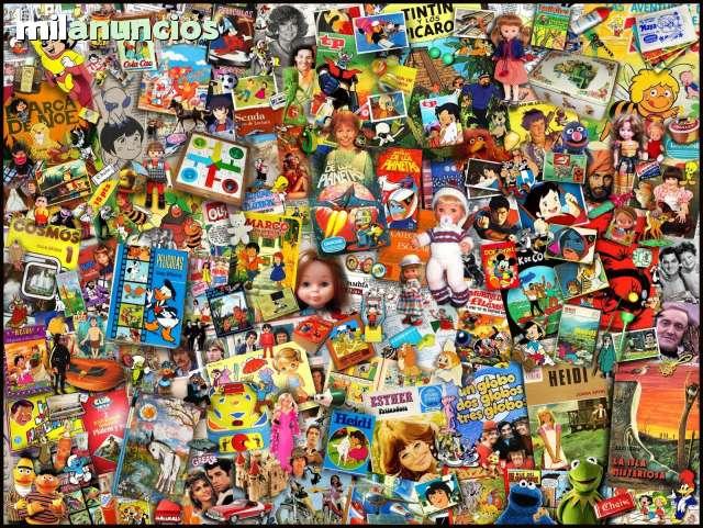 COMPRO JUGUETES VIEJOS AÑOS 70 80 90