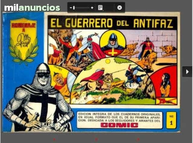 Coleccion Completa Guerrerro Del Antifaz