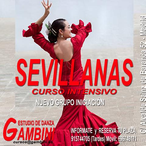 CURSO INTENSIVO DE SEVILLANAS - foto 1
