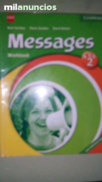 MESSAGES 2 ESO WORKBOOK (SM)